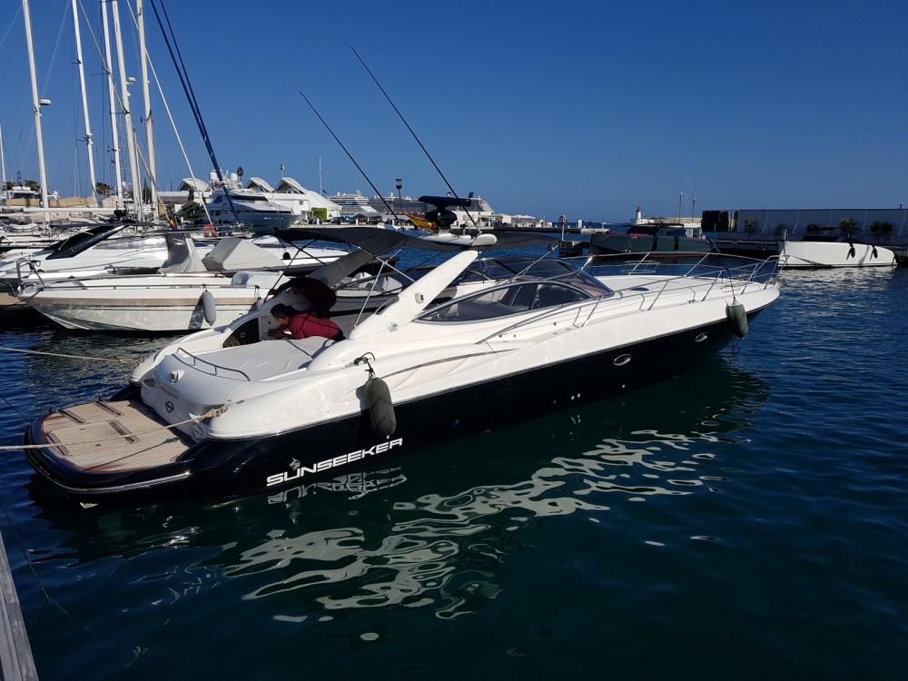 Rental Motorboat in Ibiza - Sunseeker Superhawk 50
