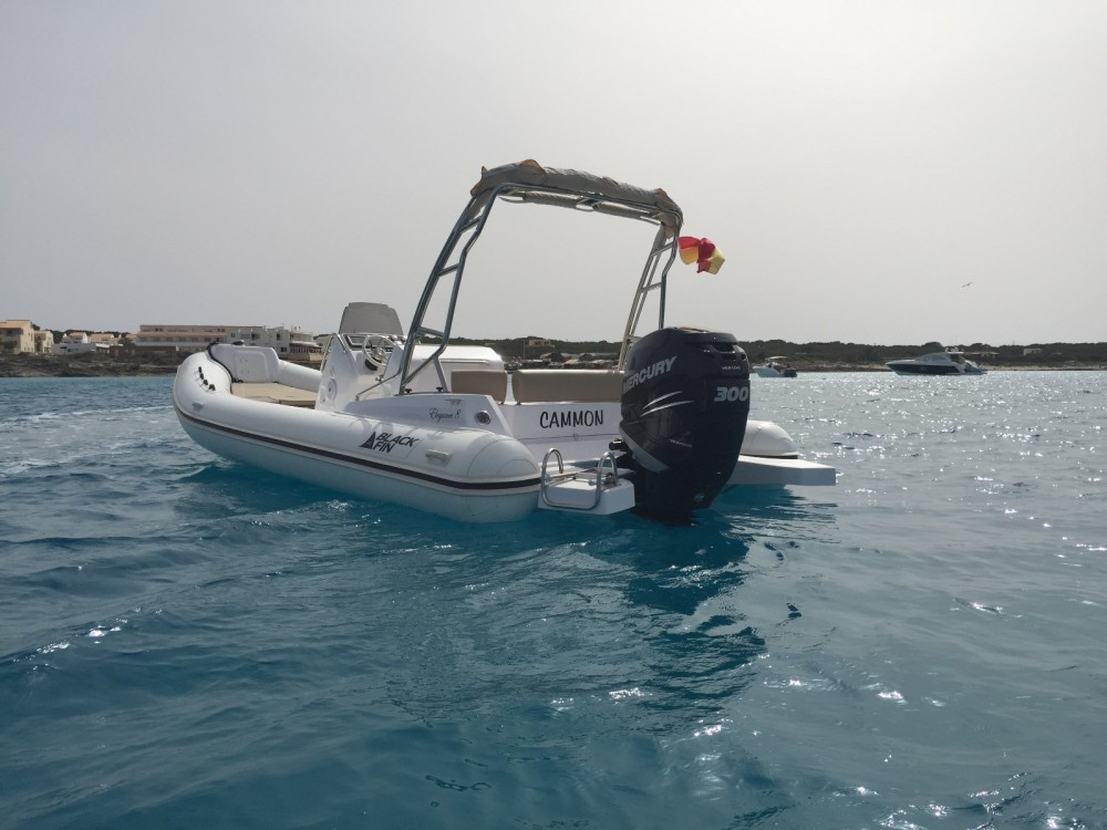 Boat rental Black Fin Blackfin 8 Elegance in la Savina on Samboat