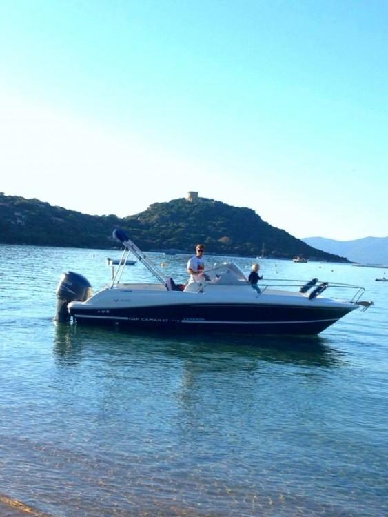 Rental Motorboat in Belvédère-Campomoro - Jeanneau Cap Camarat 715 WA