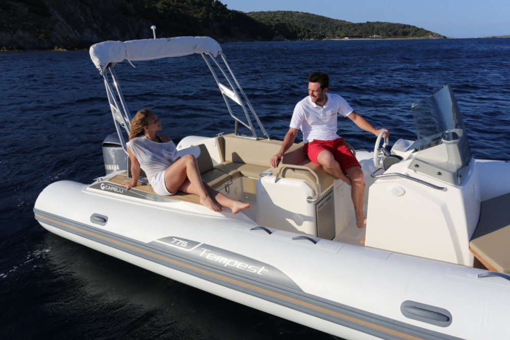 Hire RIB with or without skipper Capelli Sète