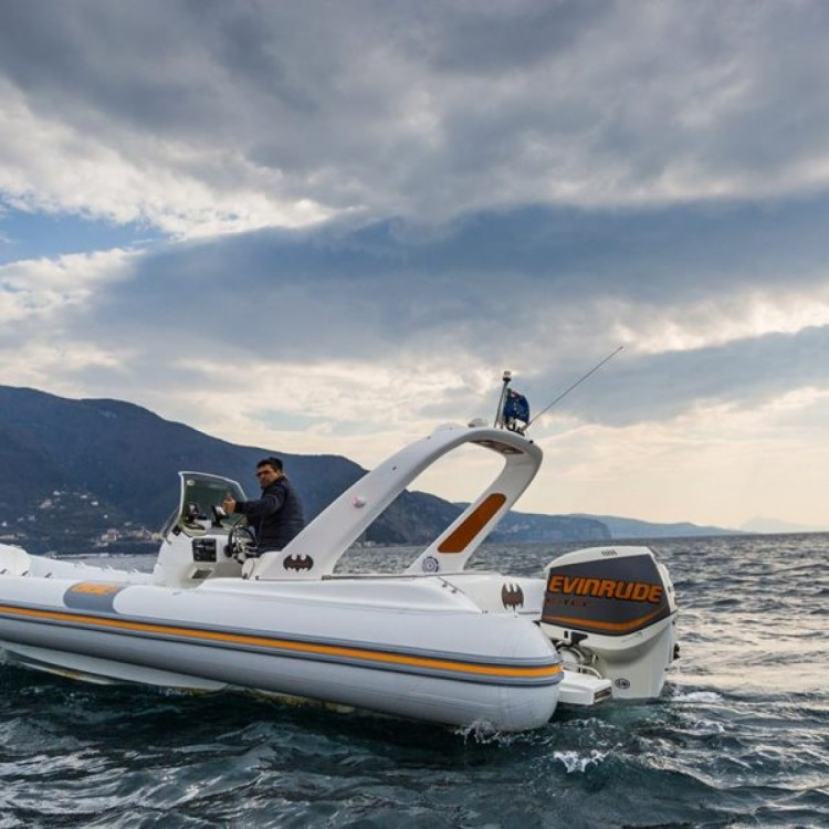 Hire RIB with or without skipper THUNDER Castellammare di Stabia