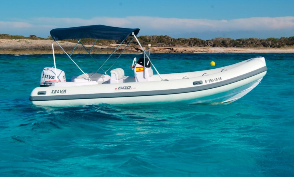 RIB for rent la Savina at the best price