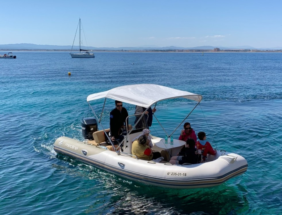 Rental RIB in  - Zodiac Medline 580 Limited Edition