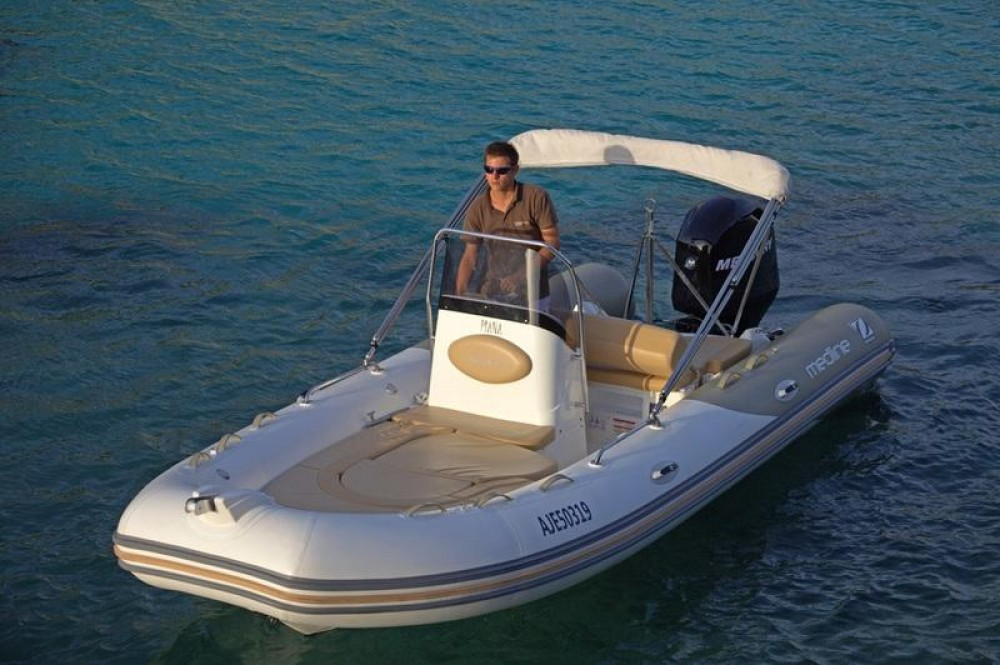 Hire RIB with or without skipper Zodiac