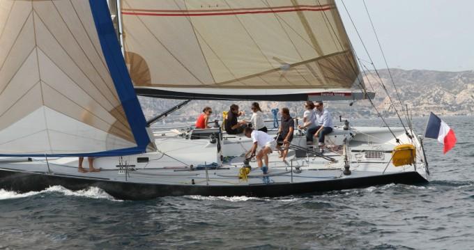 Rental yacht Marseille - Jeanneau JTA 40 on SamBoat