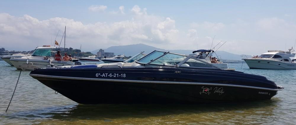 Rinker 212 CAPTATIVA between personal and professional Puerto Deportivo Marina del Cantábrico