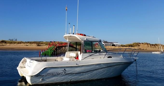Rental Motorboat in Maliaño - Faeton 730 MORAGA
