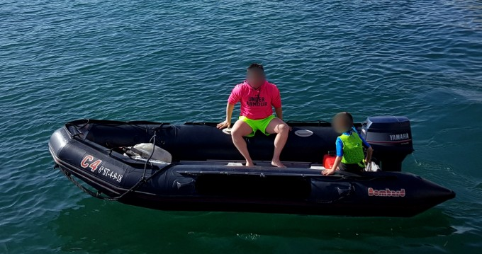 Hire RIB with or without skipper Bombard Santander