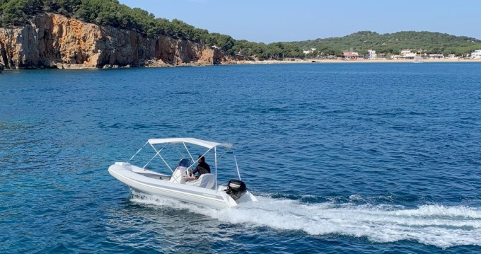 Rental RIB Grand Boats with a permit