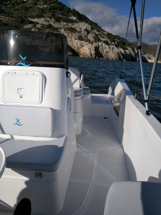 Rental Motorboat in  - Astec AXTILUX 600 OPEN