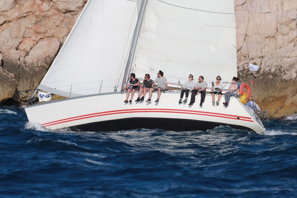 Jeanneau Sun Fast 39 between personal and professional Marseille