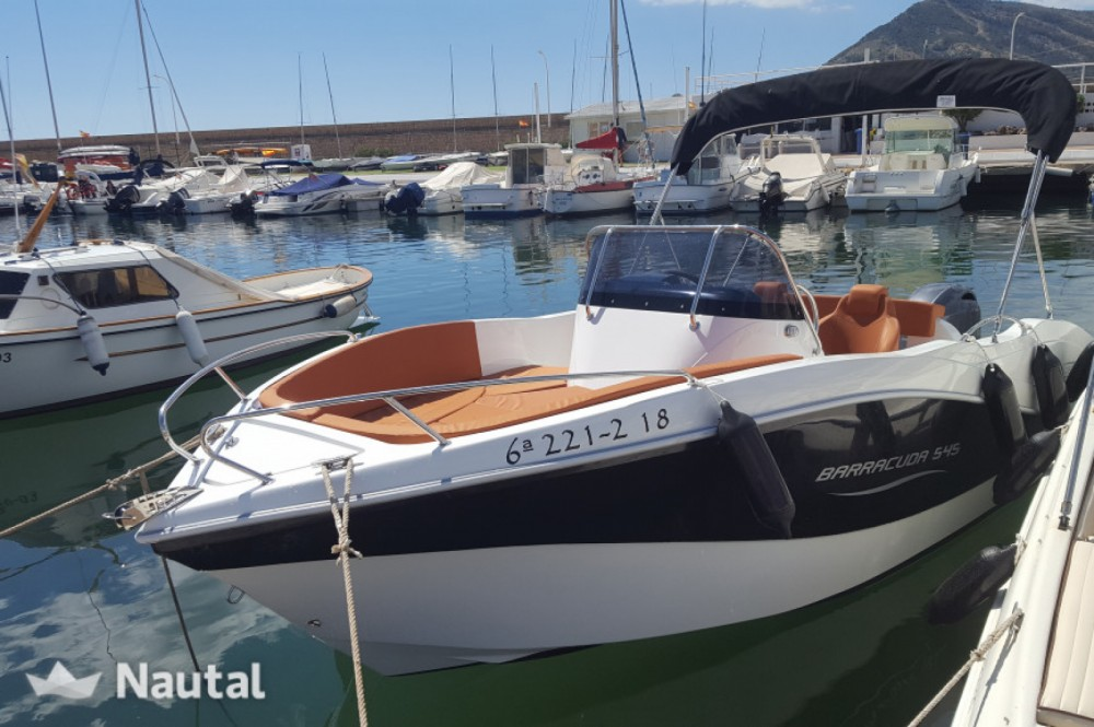 Rental Motorboat in Santander - Okiboats Barracuda 545 Open