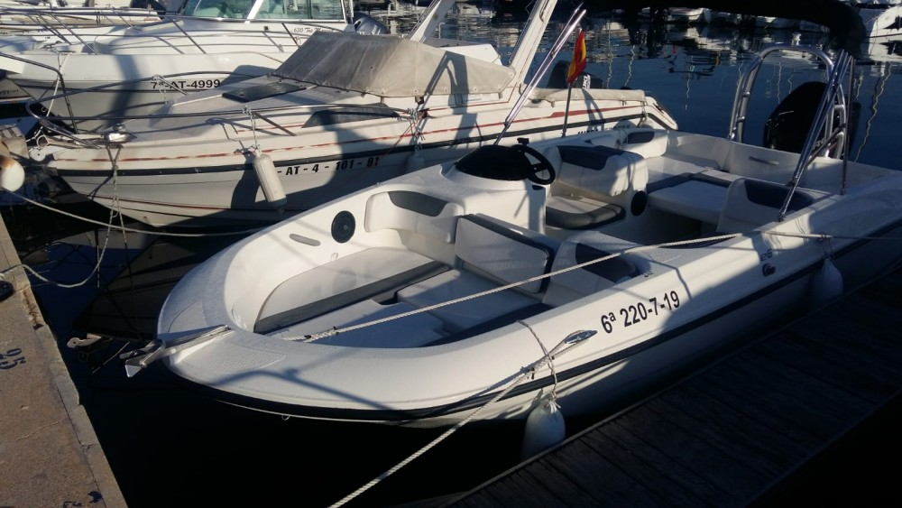 Hire Motorboat with or without skipper Bayliner Altea