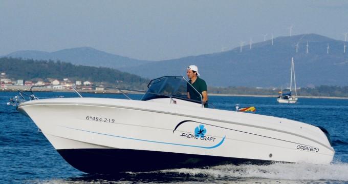 Boat rental Palma de Mallorca cheap Pacific Craft 670 Open