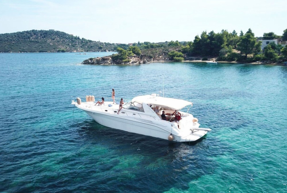 Rental yacht Ormos Panagias - Sea Ray Sea Ray 450 Sundancer on SamBoat