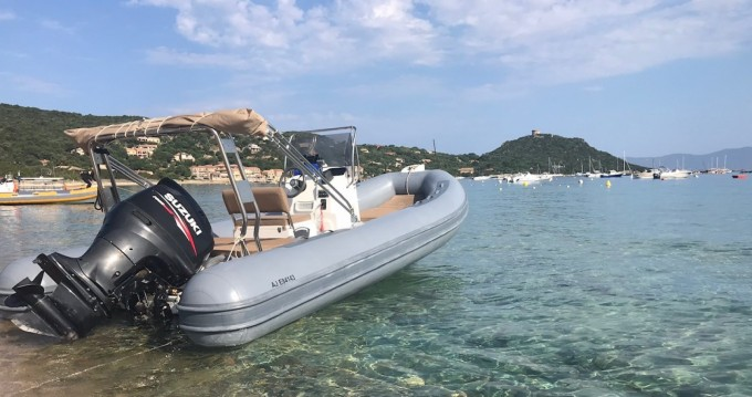 Hire RIB with or without skipper Capelli Campomoro