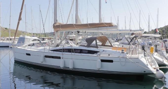 Rental Sailboat in Kos - Jeanneau Jeanneau 53