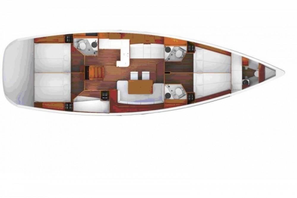 Boat rental Jeanneau Jeanneau 53 in Municipality of Kos on Samboat