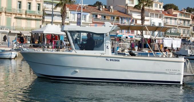 Boat rental Bandol cheap Antares 700 Fishing