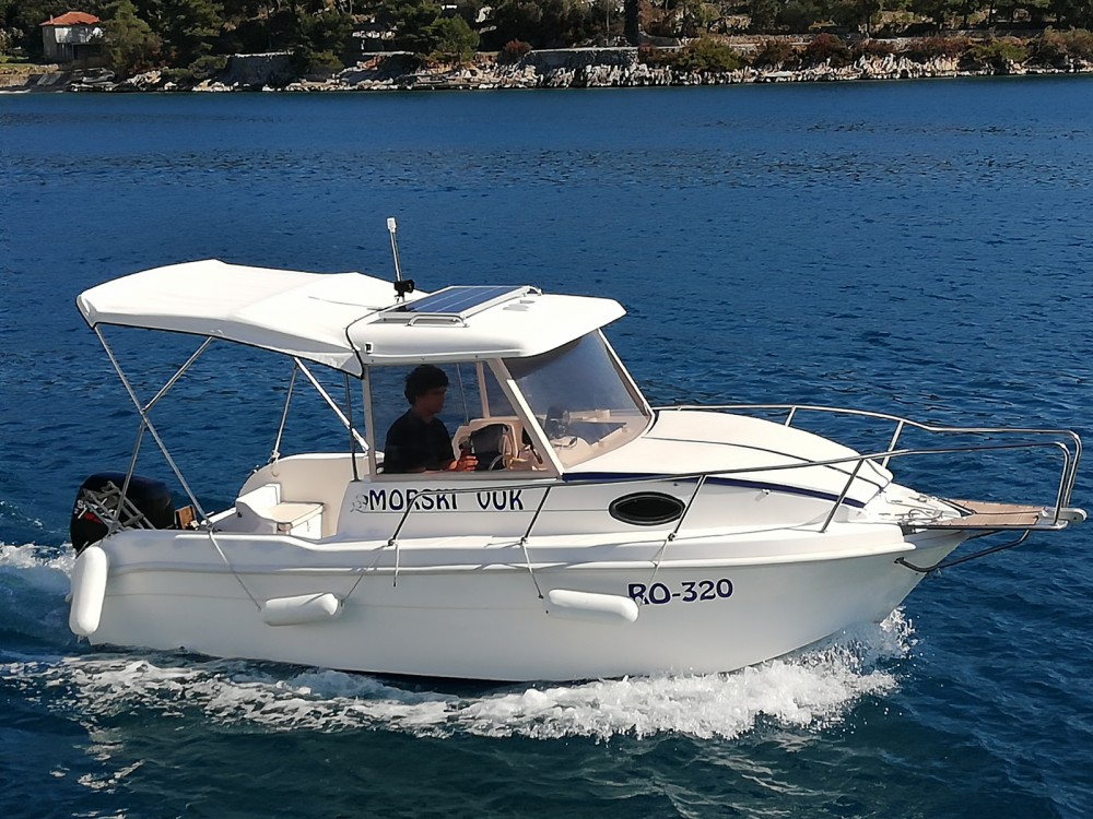 Boat rental Trogir cheap Cabin Fisher 540