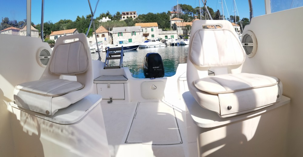 Boat rental SAVER 620 WA Cabin Fisher 540 in Trogir on Samboat