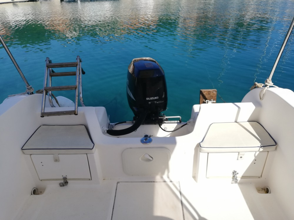 Rental Motor boat SAVER 620 WA with a permit