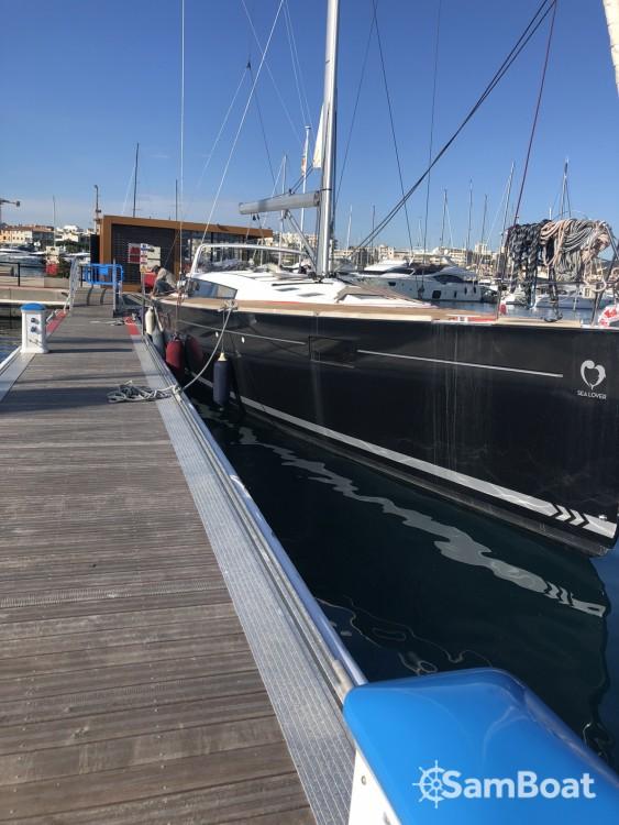 Boat rental Bénéteau Sense 57 in Saint-Laurent-du-Var on Samboat