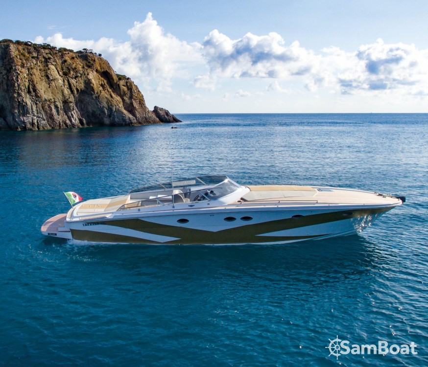 Rental Motorboat Tornado with a permit