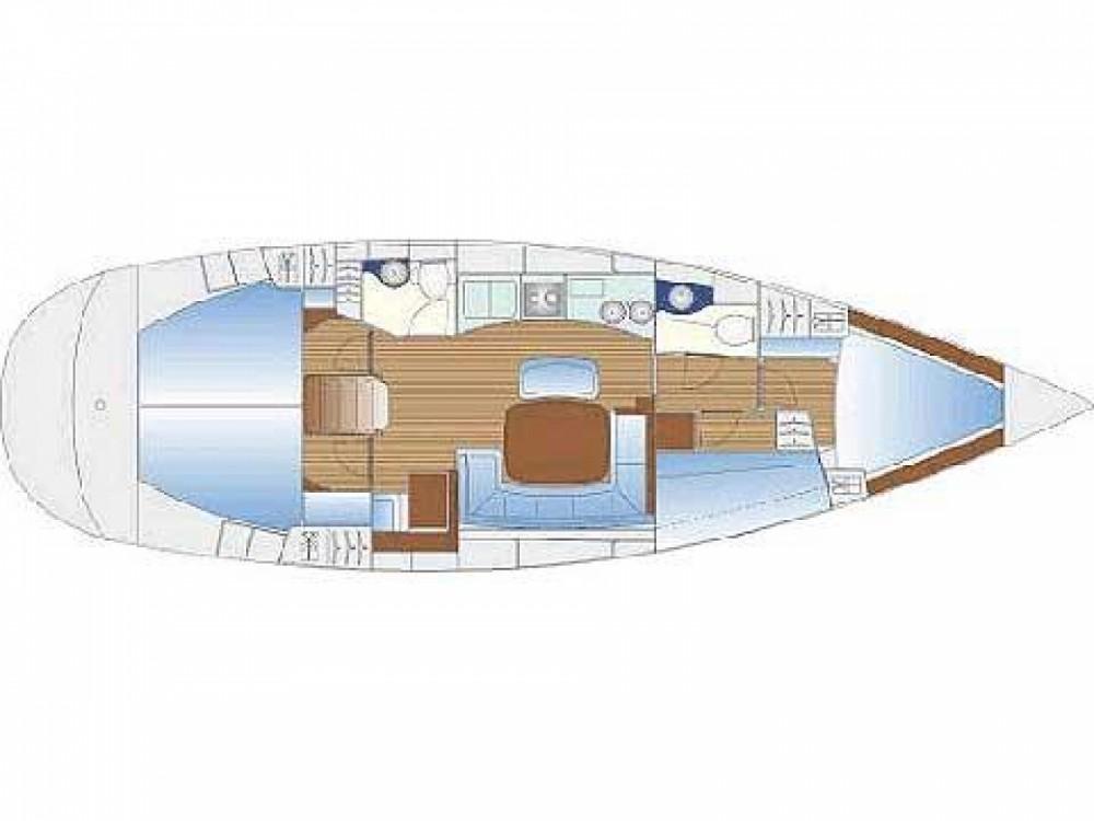 Rental yacht Keramoti - Bavaria Bavaria 44 on SamBoat