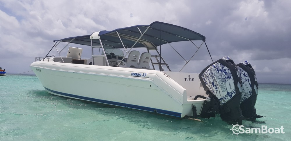 Hire Motor boat with or without skipper Forboat Pointe-à-Pitre