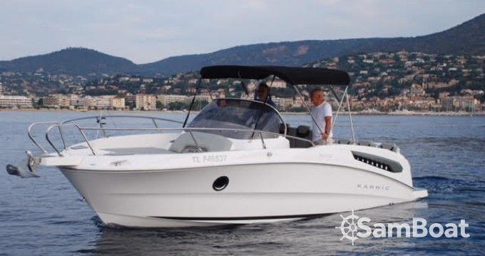 Karnic SL 702 between personal and professional Port-Camargue
