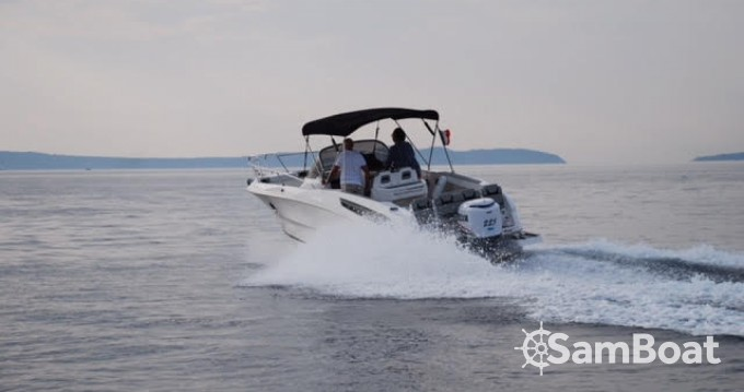 Rental Motorboat Karnic with a permit