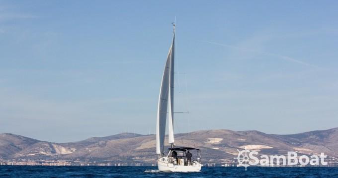 Boat rental Split cheap Oceanis 38