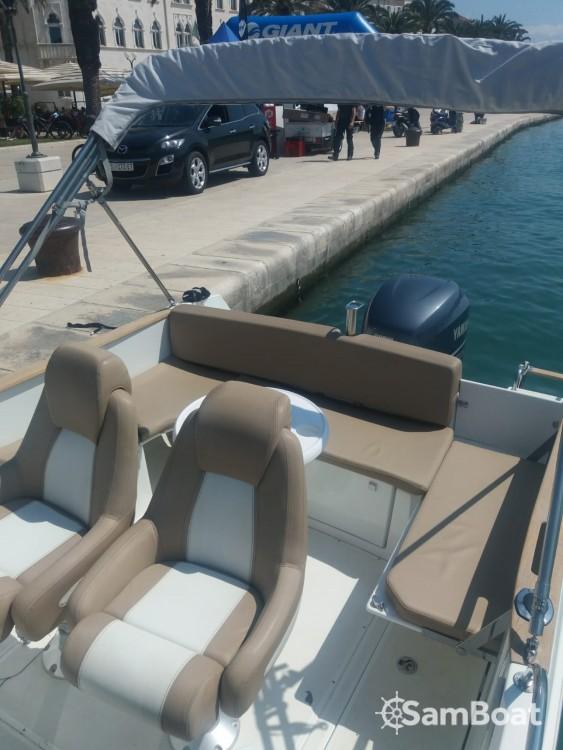 Boat rental Jeanneau Cap Camarat 755 WA in Trogir on Samboat