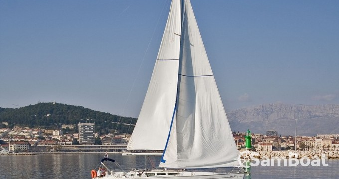 Jeanneau Sun Odyssey 43 between personal and professional Split