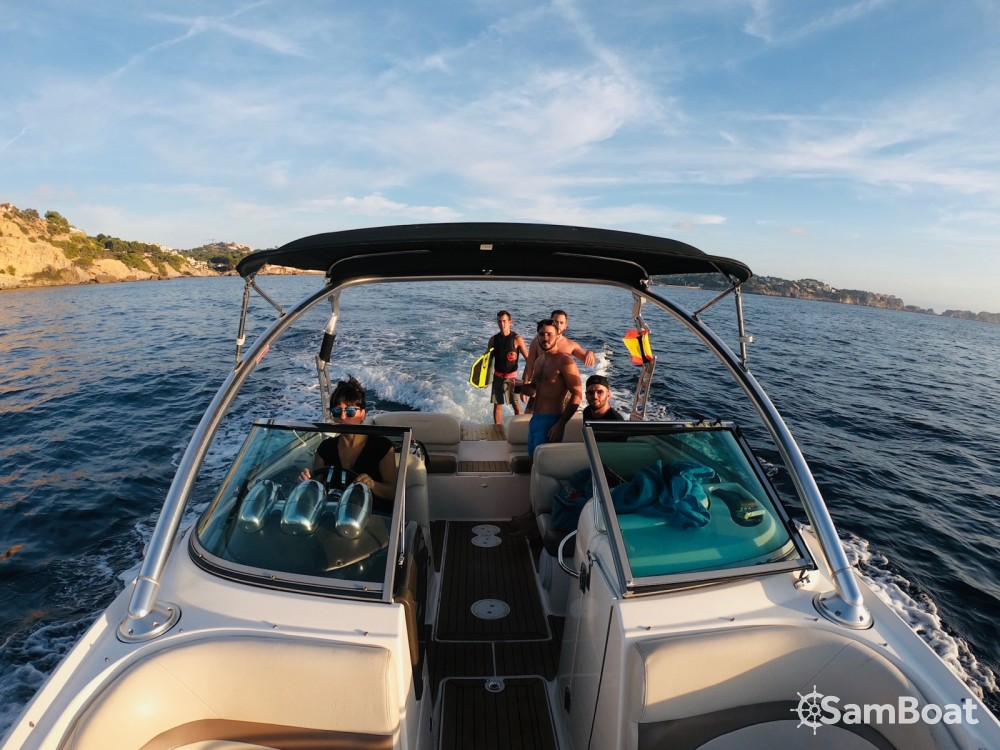 Hire Motor boat with or without skipper Mastercraft Santa Ponsa