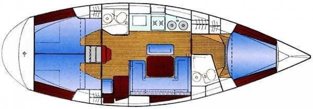 Boat rental Volos Municipality cheap Bavaria 38 Holiday