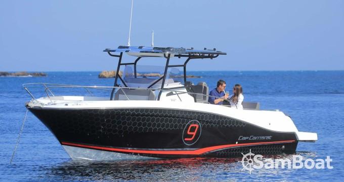 Boat rental Cogolin cheap Cap Camarat 9.0 CC