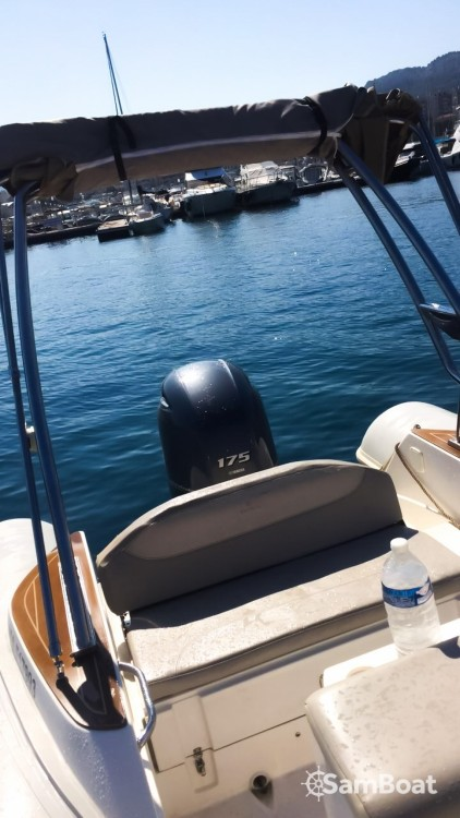 Boat rental  cheap Tempest 650
