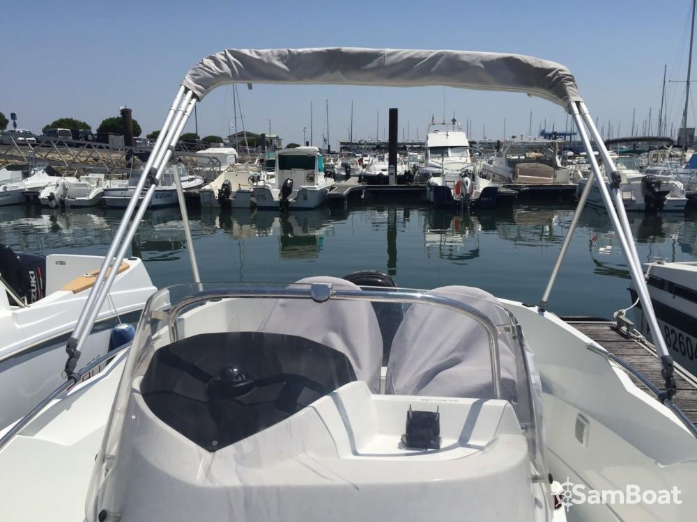Boat rental Arcachon cheap Flyer 5.50
