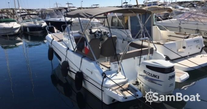 Rental yacht Six-Fours-les-Plages - Jeanneau Cap Camarat 755 WA on SamBoat