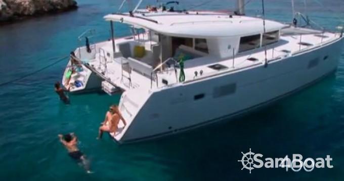 Boat rental Ibiza Town cheap Lagoon 400