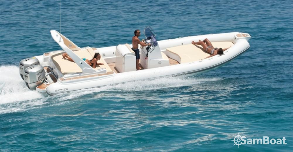 Boat rental Milazzo cheap Wave 27