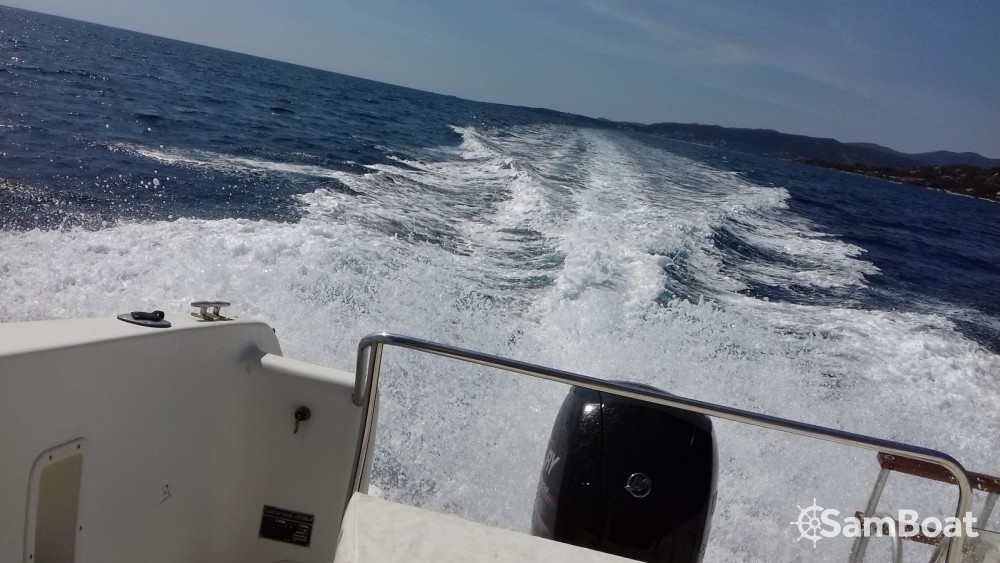 Motorboat for rent Propriano at the best price