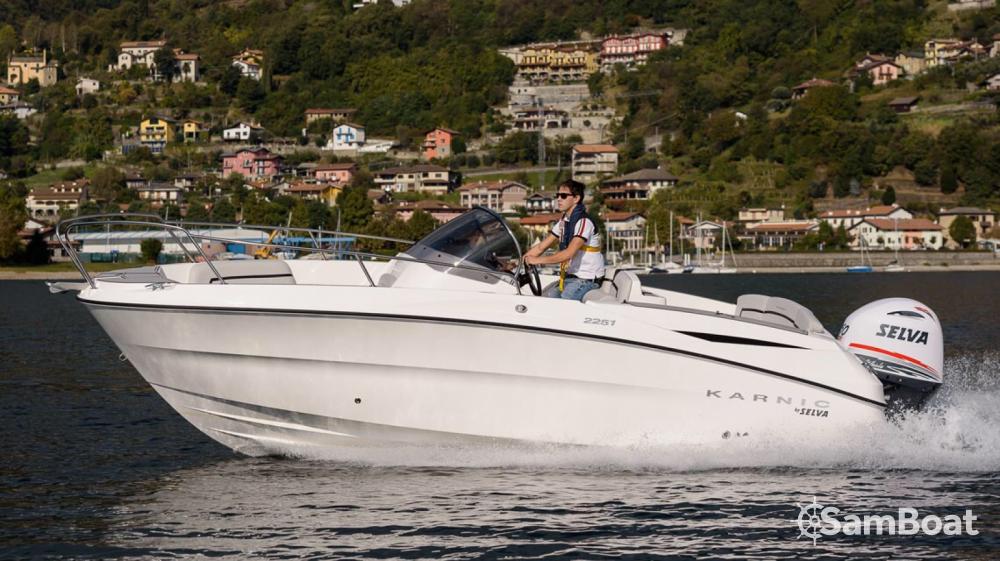 Rental Motor boat in Èze - Karnic 2251