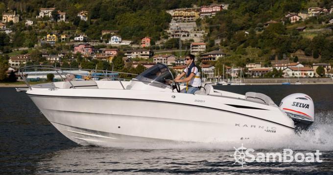 Rental Motorboat in Èze - Karnic 2251