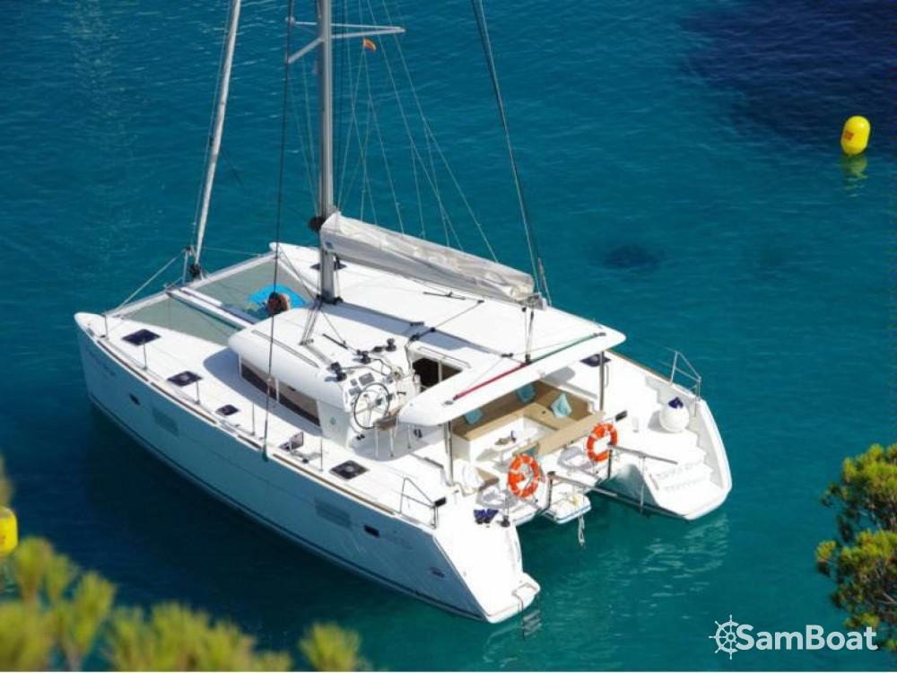 Catamaran for rent Eivissa at the best price