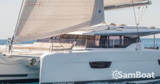 Boat rental Ibiza Town cheap Astrea 42