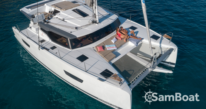 Fountaine Pajot Astrea 42 between personal and professional Ibiza Town