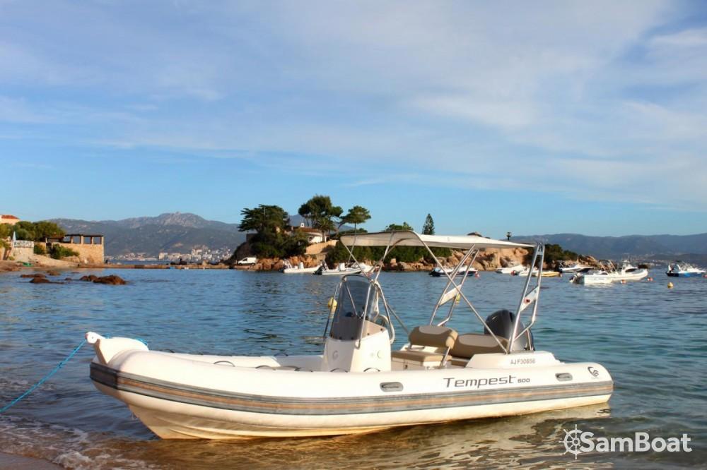 Boat rental Pietrosella cheap Tempest 600 Open